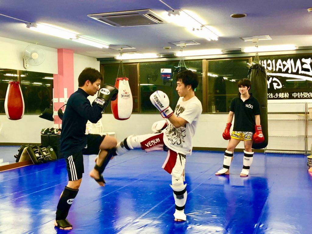 天下一ジム 高崎 スパーリング - キックボクシングジム