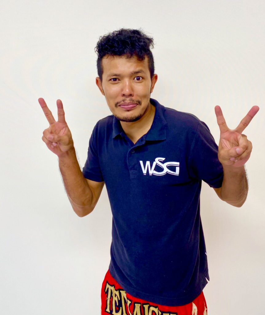 ついに天下一ジム専属タイ人トレーナー決定しました!!