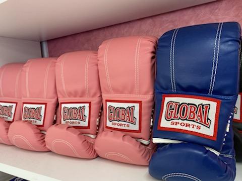 レンタル用防具 - キックボクシングジム