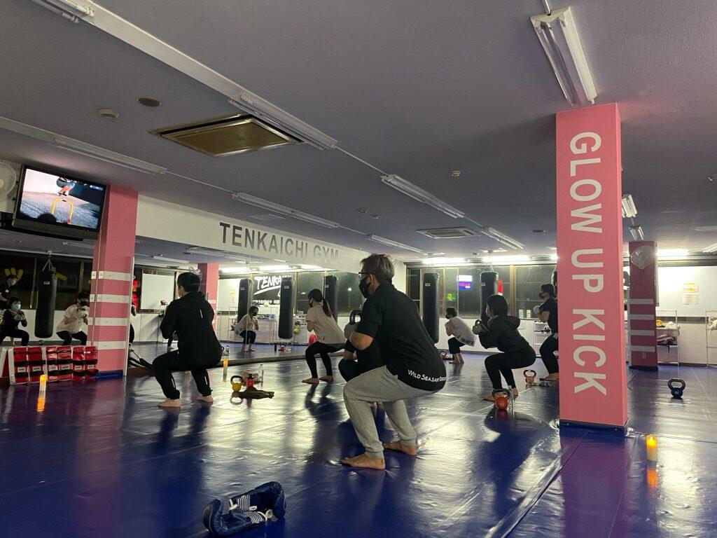 ジム 高崎 フィットネス キックボクシング 男女混合クラス ケトル ケトルフィット - キックボクシングジム