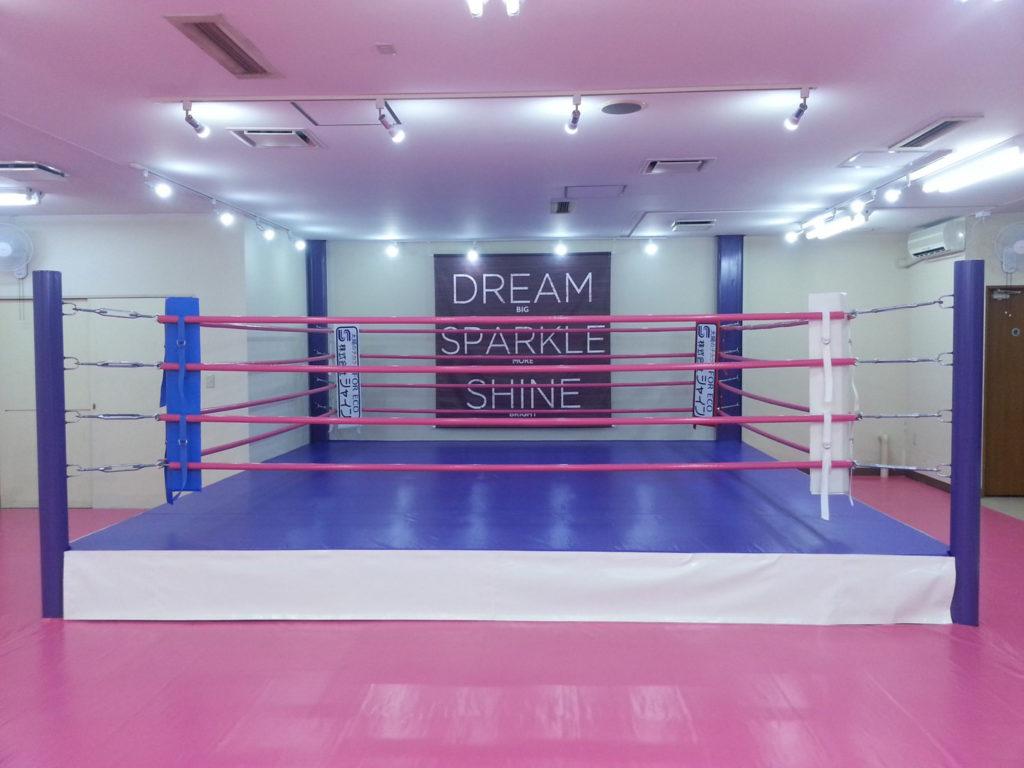 ワイルドシーサー 前橋店舗 リング - キックボクシングジム