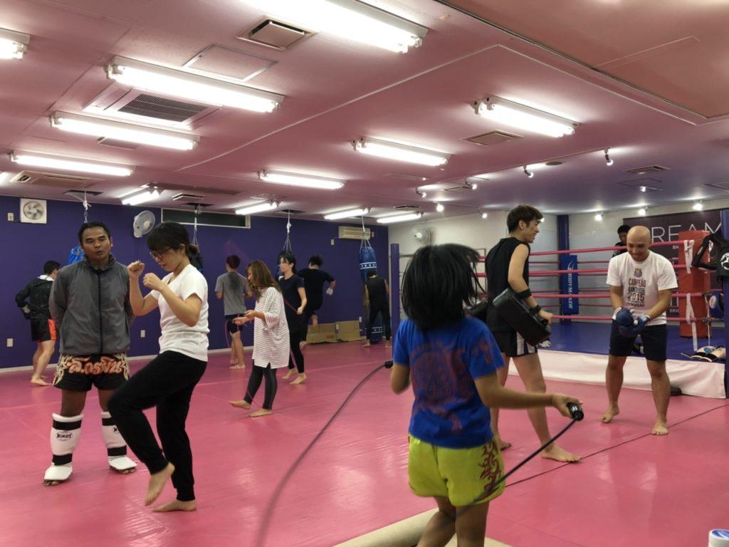 ワイルドシーサー 前橋店舗 練習風景 - キックボクシングジム