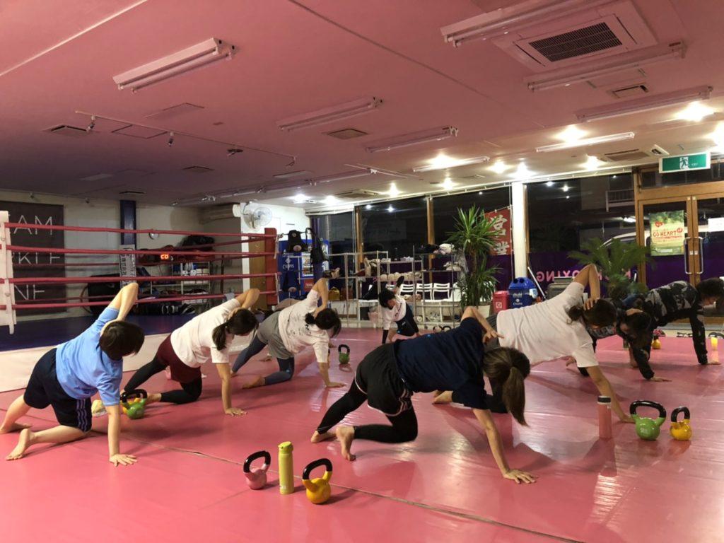 ワイルドシーサー前橋店舗 筋トレ - キックボクシングジム