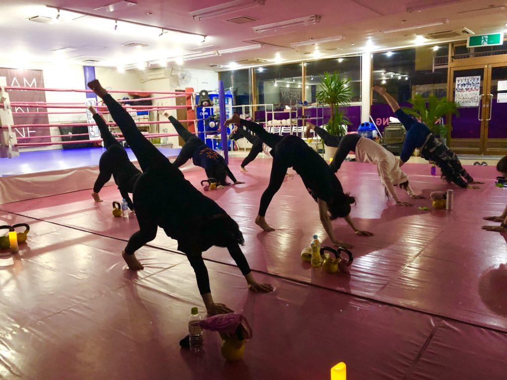 ワイルドシーサー 前橋店舗 ケトルヨガ2 - キックボクシングジム