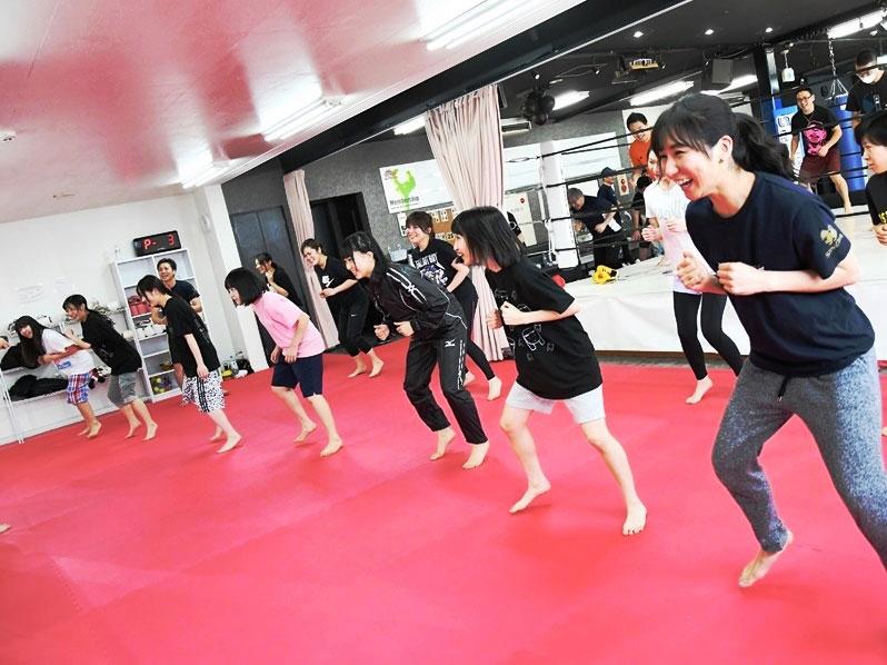 ワイルドシーサー高崎(京目町)のアイドルカレッジ - キックボクシングジム