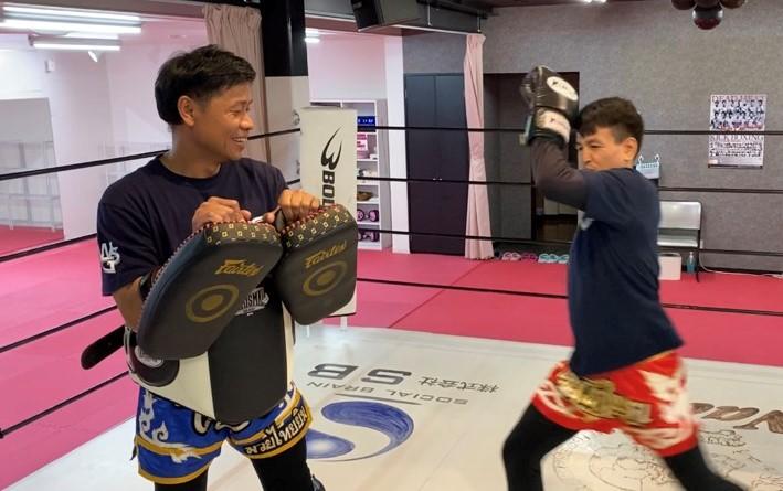 ワイルドシーサー高崎(京目町)のビューティーミット - キックボクシングジム