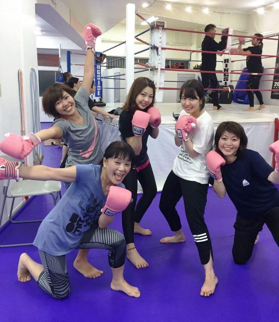 練習風景2 - キックボクシングジム