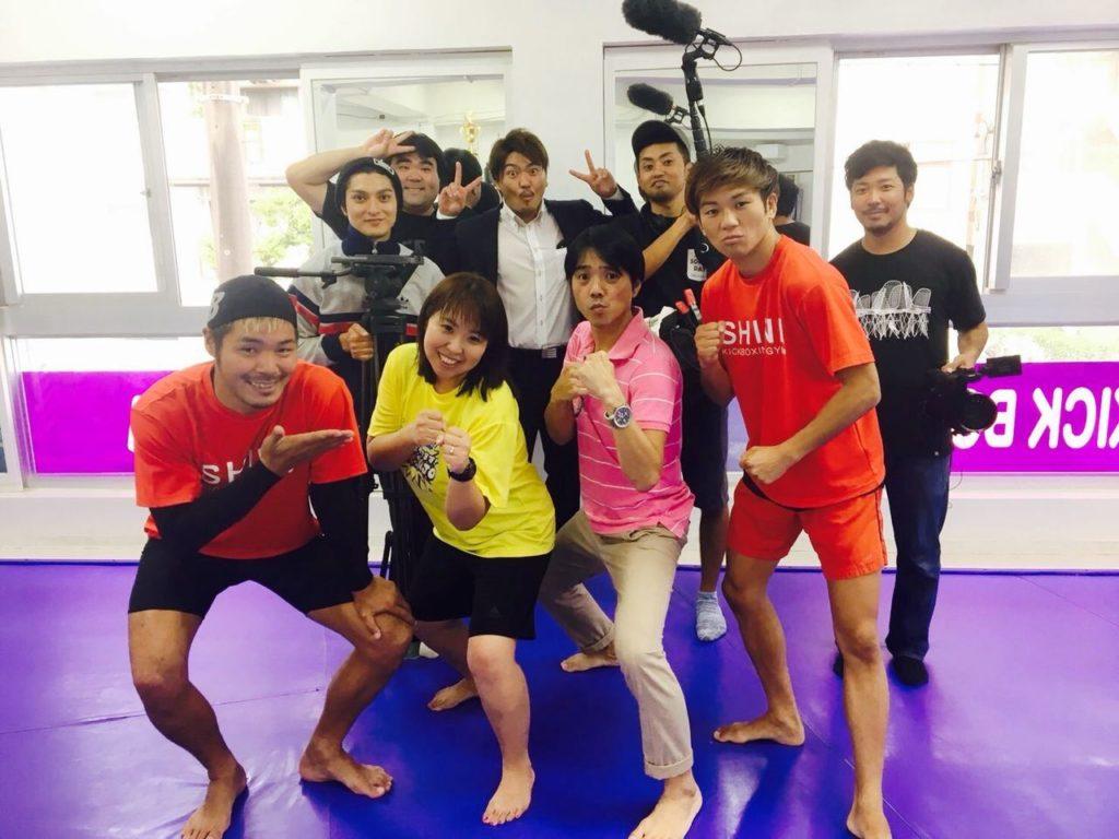 練習風景3 - キックボクシングジム